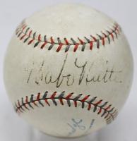 Babe Ruth, Lou Gehrig & Walter Johnson Signed OAL Baseball (PSA LOA)