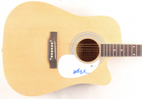 Willie Nelson Signed Full-Size Acoustic Guitar (Beckett COA)