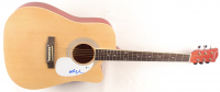 Willie Nelson Signed Full-Size Acoustic Guitar (Beckett COA) at PristineAuction.com