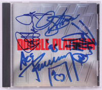 """Kiss """"Double Platinum"""" CD Album Signed by (4) with Paul Stanley, Ace Frehley, Peter Criss & Gene Simmons (REAL LOA)"""