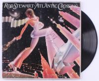 "Rod Stewart Signed ""Atlantic Crossing"" Vinyl Record LP Album Cover (REAL LOA)"
