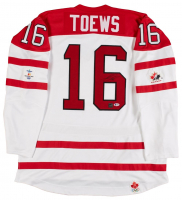 Jonathan Toews Signed 2010 Team Canada Nike Replica Jersey (Beckett COA)