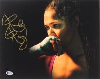Ronda Rousey Signed 11x14 Photo (Beckett COA)