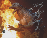 """Tsutomu Kitagawa Signed """"Godzilla"""" 8x10 Photo (Legends COA)"""