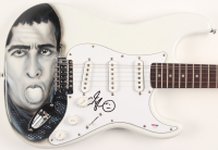 Adam Sandler Signed Fender Squier Full-Size Airbrushed Electric Guitar (PSA Hologram)