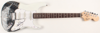 Alice Cooper Signed Fender Squier Full-Size Airbrushed Electric Guitar (PSA Hologram) at PristineAuction.com