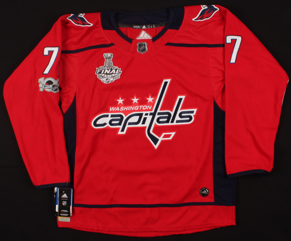 2ebbb21bd T.J. Oshie Signed Capitals Jersey Inscribed