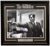 "Al Pacino Signed ""The Godfather"" 22x27 Custom Framed Photo Display (Beckett COA)"