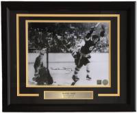 Bobby Orr Signed Boston Bruins 16x20 Custom Framed Photo Display (GNR COA)