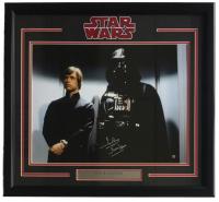"Dave Prowse Signed ""Star Wars"" 22x27 Custom Framed Photo Display Inscribed ""Darth Vader"" (Steiner COA)"