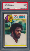 1979 Topps #390 Earl Campbell RC (PSA 9)