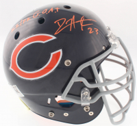 "Devin Hester Signed Bears Full-Size Authentic On-Field Helmet Inscribed ""KR/PR"" & ""G.O.A.T"" (JSA COA) at PristineAuction.com"
