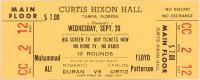 Unused 1972 Muhammad Ali vs. Floyd Patterson Fight Ticket