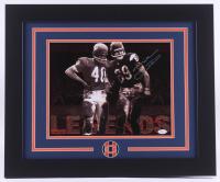 "Mike Ditka Signed Bears ""Legends"" 19.5x23.5 Custom Framed Photo Display (JSA COA)"