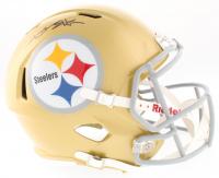 Antonio Brown Signed Steelers Full-Size Speed Helmet (JSA COA)