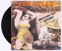 "Bob Dylan Signed ""Knocked Out Loaded"" Vinyl Record Album Inscribed ""7/1/86"" (Real LOA)"