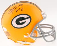 "Paul Hornung Signed Packers Mini-Helmet Inscribed ""HOF 86"" (JSA COA) at PristineAuction.com"