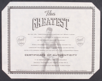 "Muhammad Ali Signed ""The Greatest"" LE Fossil Watch Set Display (Fossil & Ali COA) at PristineAuction.com"
