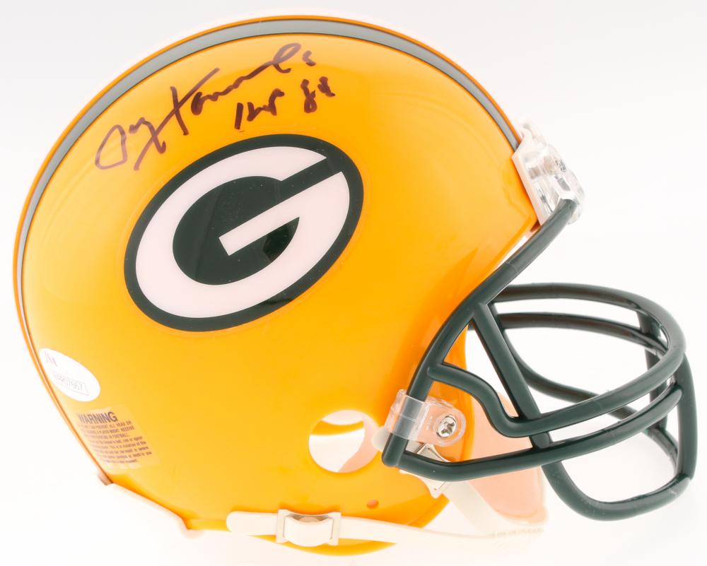 c5d5c202e70 Paul Hornung Signed Packers Mini-Helmet Inscribed