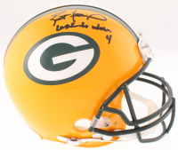 "Brett Favre Signed LE Packers Full-Size Authentic On-Field Helmet Inscribed ""Last to Wear 4"" (Radtke COA & Favre Hologram)"