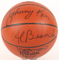 1962-63 Syracuse Nationals NBA Basketball Team-Signed by (11) with Johnny Kerr, Hal Greer, Larry Costello, Chet Walker, Dolph Schayes (JSA ALOA)
