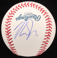Mike Trout Signed OML Baseball (PSA Hologram)