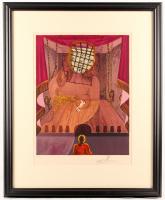 "Salvador Dali Signed LE ""The Prison"" 27x32 Custom Framed Print Display (PA LOA)"