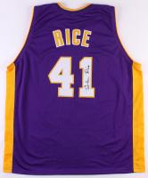 "Glen Rice Signed ""G Money"" Jersey (JSA COA)"