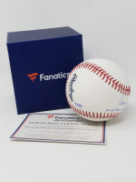 "Aaron Judge Signed OML Baseball Inscribed ""MLB Rookie HR Record 52"" (Fanatics Hologram) at PristineAuction.com"