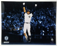 "Derek Jeter Signed New York Yankees ""Magic Moments"" 16x20 Photo (Steiner COA)"