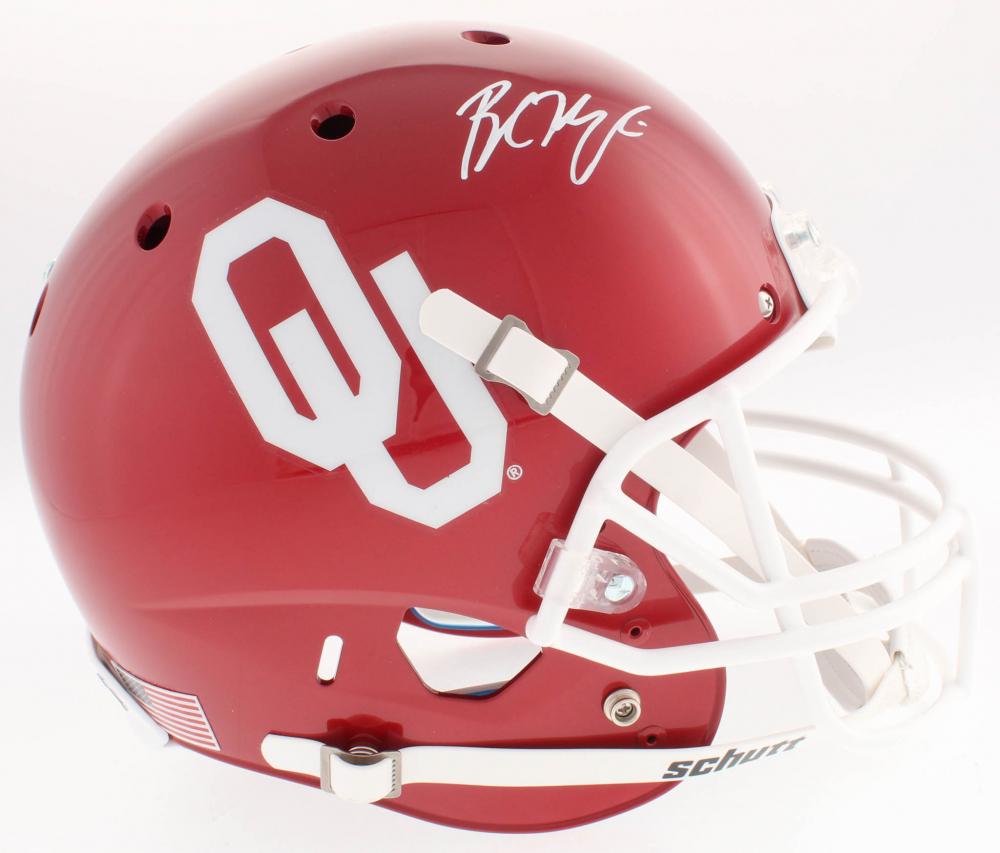 Baker Mayfield Signed Oklahoma Sooners Full-Size Helmet (Beckett Hologram) 5129ef84f