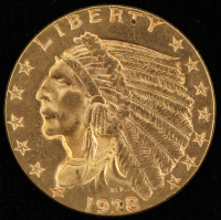 1928 $2.5 Indian Head Quarter Eagle Gold Coin