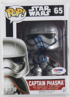 "J. J. Abrams Signed ""Star Wars"" Captain Phasma #65 Funko Pop! Vinyl Figure (PSA COA)"