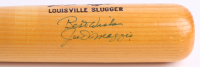 Joe DiMaggio Signed Louisville Slugger Powerized Custom Engraved Baseball Bat (JSA LOA)