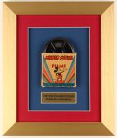 Vintage 1940's Walt Disney's Mickey Mouse 10x12 Custom Framed Film Reel Display