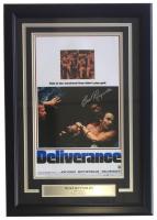 """Burt Reynolds Signed """"Deliverance"""" 14x22 Custom Framed Photo Display (Steiner COA)"""
