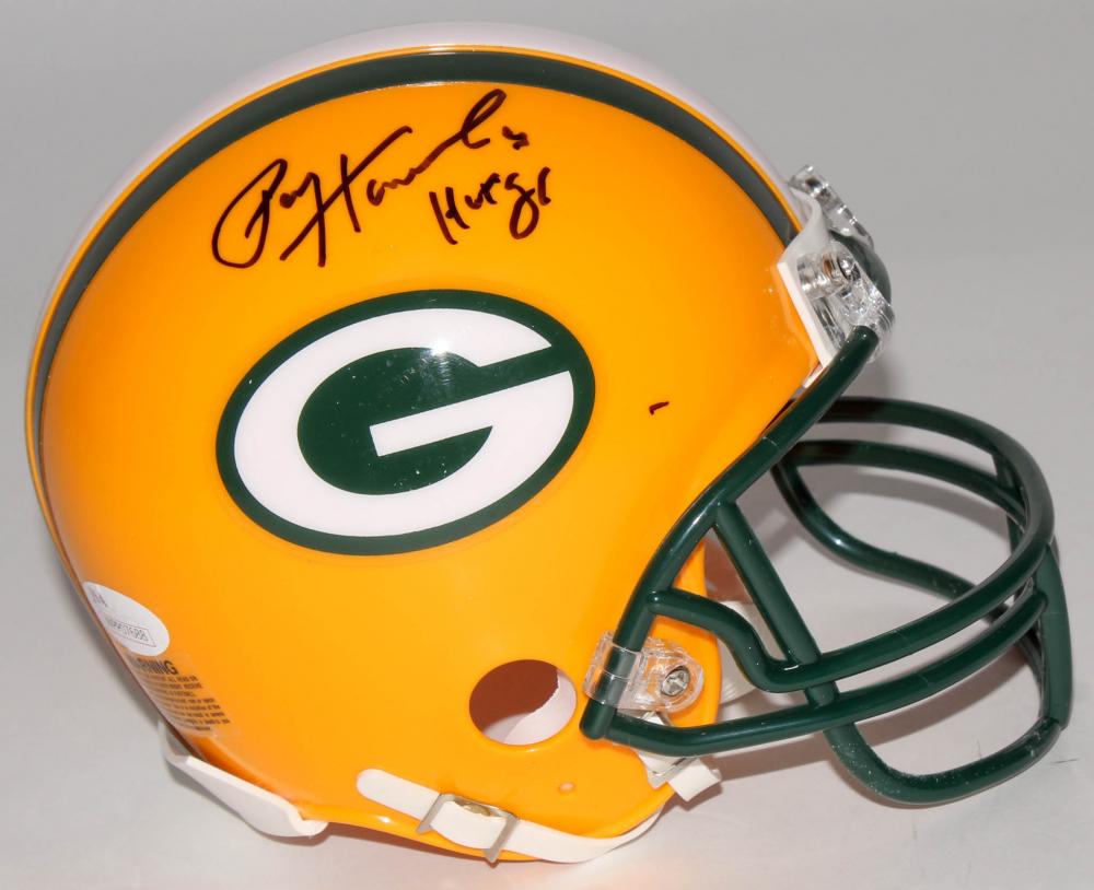e81c5d05eaf Paul Hornung Signed Packers Mini Helmet Inscribed