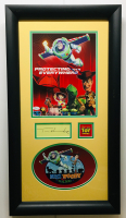 "Tim Allen & Tom Hanks Signed ""Toy Story"" 16x29 Custom Framed Display (JSA COA)"