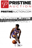 Deandre Ayton Combo Ticket: Autograph & Posed Photo for November 3rd Appearance - Available for Purchase at Event at PristineAuction.com