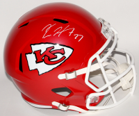 Kareem Hunt Signed Chiefs Full-Size Speed Helmet (JSA Hologram)