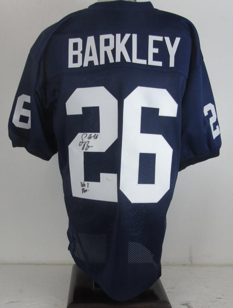 b9cbc0bbf Saquon Barkley Signed Penn State Nittany Lions Jersey (JSA COA) at  PristineAuction.com