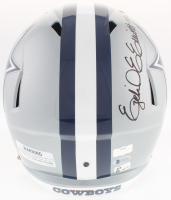 Ezekial Elliot & Dak Prescott Signed Cowboys Full-Size Speed Helmet (Radtke COA & Beckett COA & Prescott Hologram) at PristineAuction.com