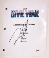 "Frank Grillo Signed ""Captain America: Civil War"" Full Movie Script (PSA COA) at PristineAuction.com"