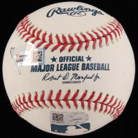 Aaron Judge Signed LE OML Baseball with Multiple Inscriptions (MLB Hologram & Fanatics Hologram) at PristineAuction.com