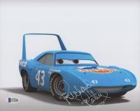"""Richard Petty """"Cars"""" Signed 8x10 Photo (Beckett COA)"""