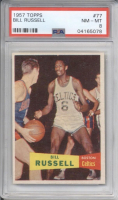 1957-58 Topps #77 Bill Russell RC (PSA 8) at PristineAuction.com
