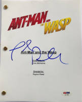 """Paul Rudd Signed """"Ant-Man and the Wasp"""" Full Movie Script (PSA COA) at PristineAuction.com"""