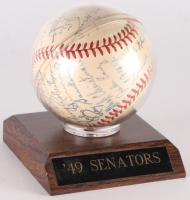 1949 Washington Senators OAL Baseball Signed by (25) with Clyde Vollmer, Sherry Robertson, Mickey Harris, Robert Ortiz, and Joe Haynes (JSA LOA) at PristineAuction.com