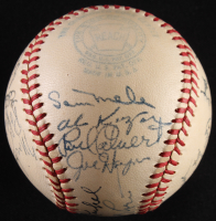1949 Washington Senators OAL Baseball Signed by (25) with Clyde Vollmer, Sherry Robertson, Mickey Harris, Robert Ortiz, and Joe Haynes (JSA LOA) at PristineAuction.com