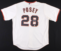 Buster Posey Signed Giants Jersey (LOJO COA) at PristineAuction.com